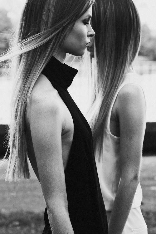 #cheveux #long #lisse