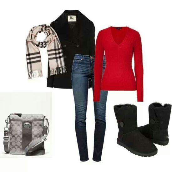 The complete holiday outfit!
