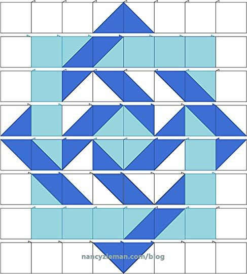Nancy Zieman's Blog - Illusion Quilts Made Easy: Slip Knot Quilt Pattern - January 17, 2017 01:00