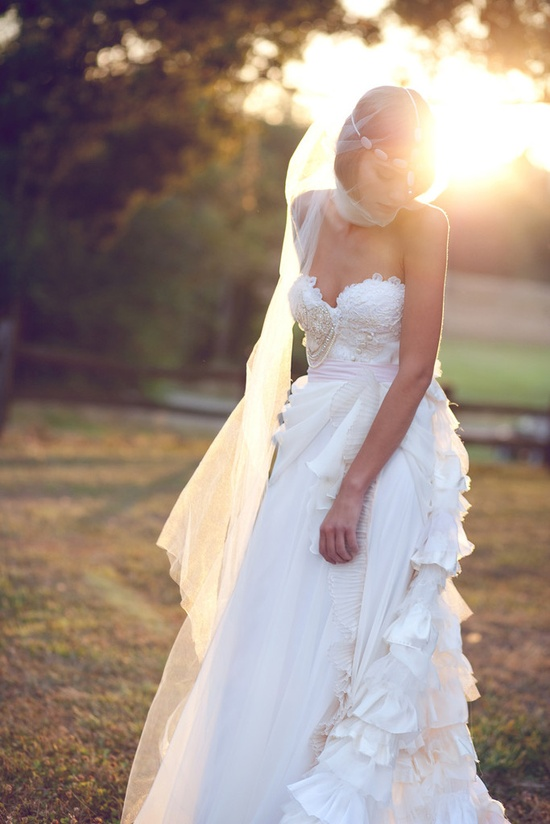 Some Kind of Wonderful – Bohemian Wedding Gown