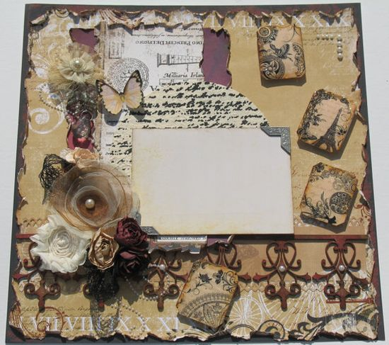 Premade Scrapbook Page... One of my favs.