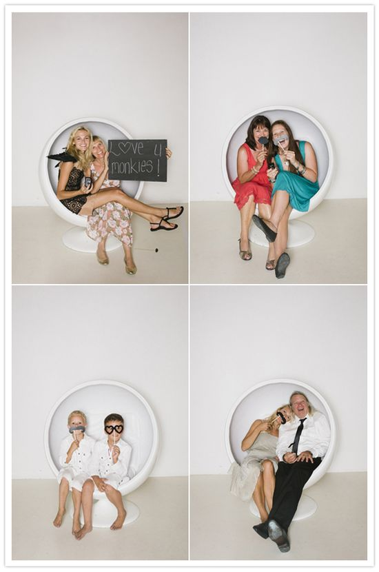 funny wedding photo booth