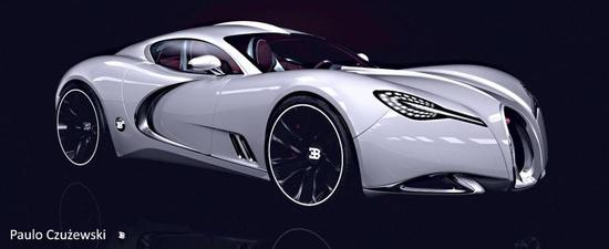 New 2013 Bugatti Galgloff Concept