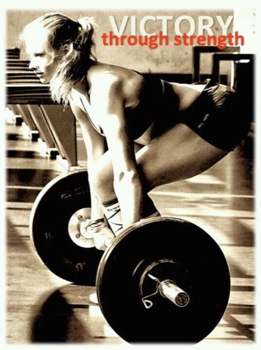 Physical strength comes from within...