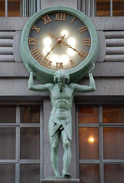 Tiffany & Co Clock, New York City, New York