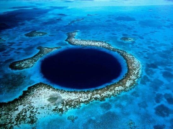 Belize, great blue hole