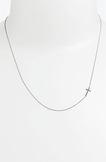 Bony Levy Reversible Diamond Cross Pendant Necklace (Nordstrom Exclusive) available at Nordstrom
