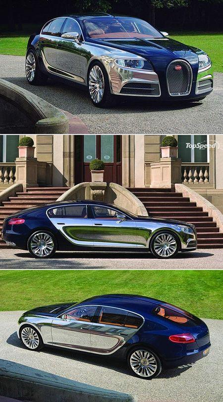 Bugatti 16C Galibier ~ World's most luxurious sedan