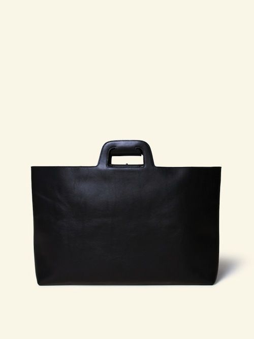 If Karl Lagerfeld carried a briefcase, it would look a little (ok, a LOT) like this Otaat one. —erica