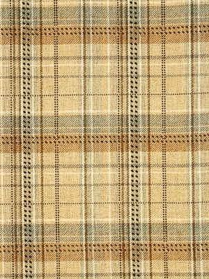 Mulberry Fabric Allegro Plaid Sand/Blue $191.75 per yard #interiors #decor #plaidfabrics