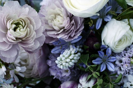 Blue combo for bouquet