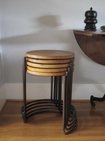 stacking stools .....