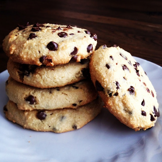 Paleo chocolate chip cookies. #paleo #dessert #chocolate