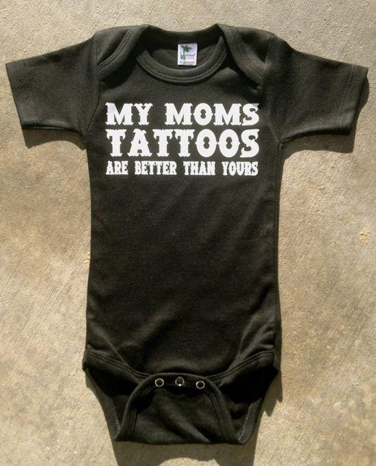 If i ever have a baby, boy or girl, they're are gonna rock the shit outta this onsie!