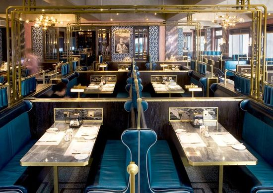 The Wolseley, The London NYC, and Other Great David Collins Designs Photos   Architectural Digest