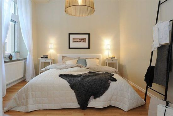 Scandinavian Style Bed Room Decor