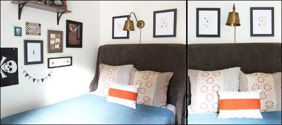 Teen Boy Room Makeover #teen #boy #bedroom #decor #boysroom