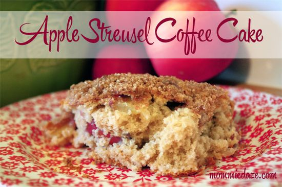 Apple Coffee Cake Recipe - Mommiedaze
