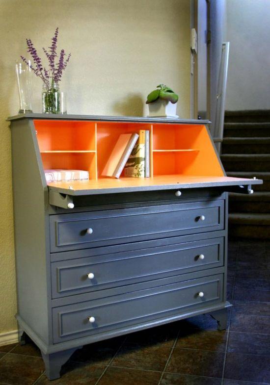 Peach Sorbet Desk