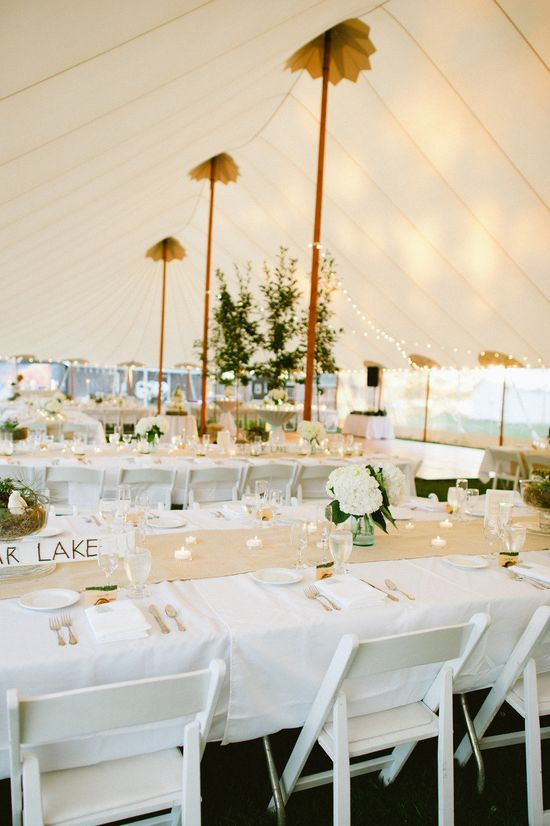 Love tented wedding receptions! Tent from sperrytents.com, Photography by yazyjo.com