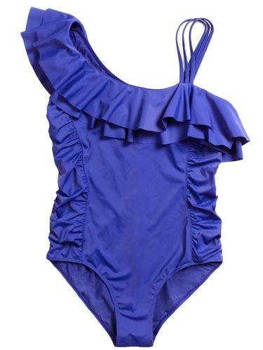 Purple Bathing Suit