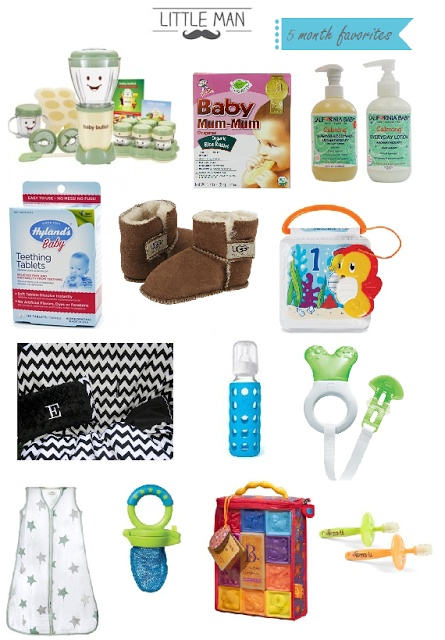 favorite 5 month baby products www.myblossomingb...