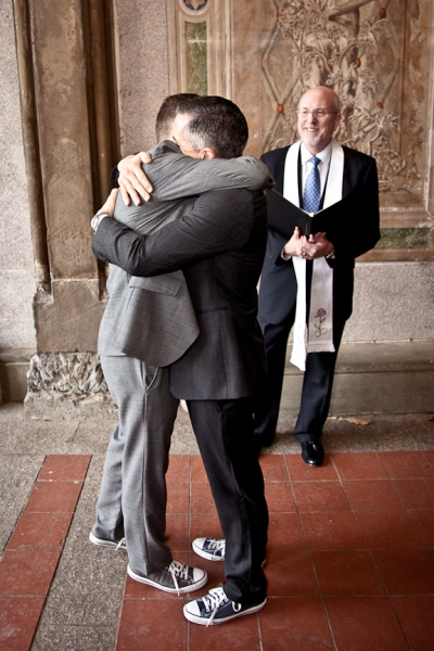 A NYC Gay Wedding with Reverend Will