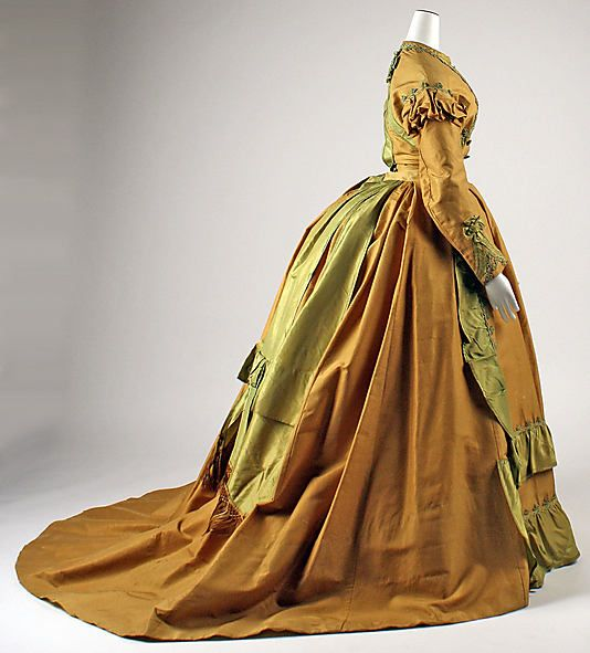 Dress, Afternoon 1866