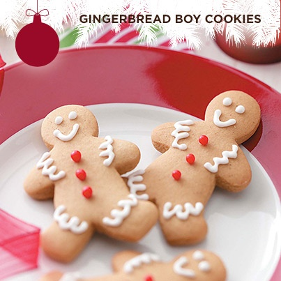 Taste of Home's Cookie Countdown: Gingerbread Boy Cookies! These cookies always come out of the oven soft and chewy with plenty of traditional molasses-ginger flavor.