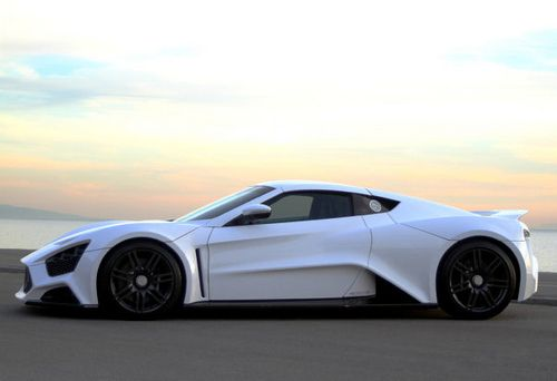 WORLD LUXURY EXPO: Zenvo ST1 Hypercar debuts in Abu Dhabi
