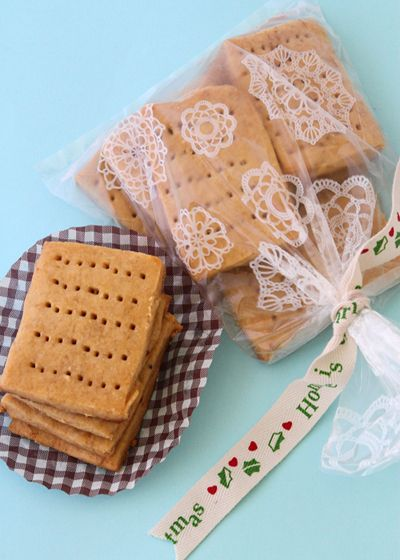 Espresso Shortbread Cookies--great to eat, great to give as a cute gift!