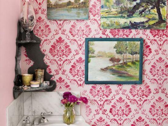 vintage girly apartment  #bathroom design ideas #bathroom decorating #bathroom decorating before and after #modern bathroom design
