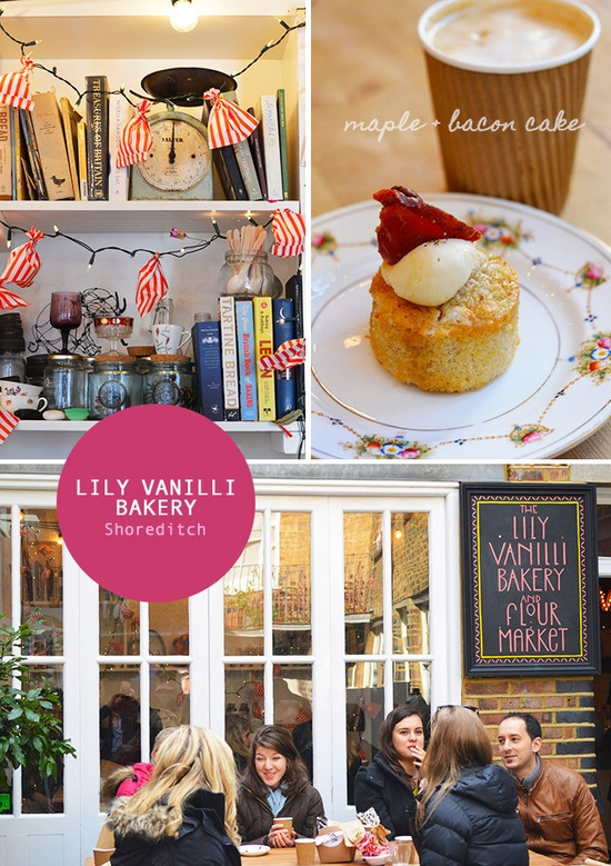 Lily Vanilli Bakery in London's East End. Photos by Spotted SF.