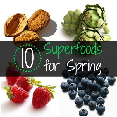 Top 10 Best Superfoods for Spring