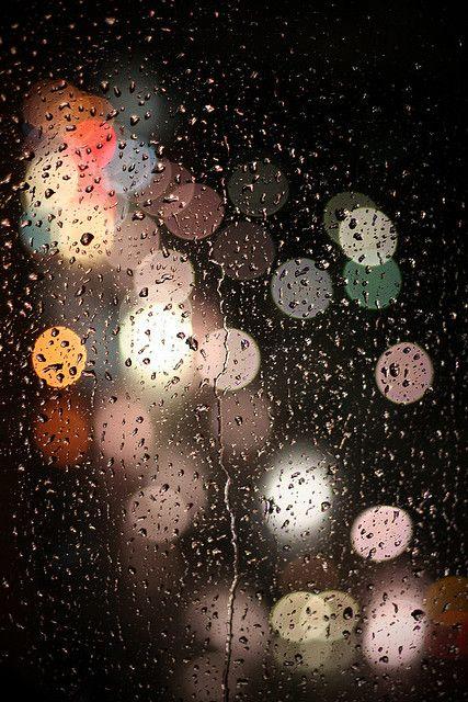 Beautiful rain and #bokeh #photography