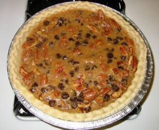 Eric's Chocolate Pecan Pie - Test Recipes - Cooking For Engineers