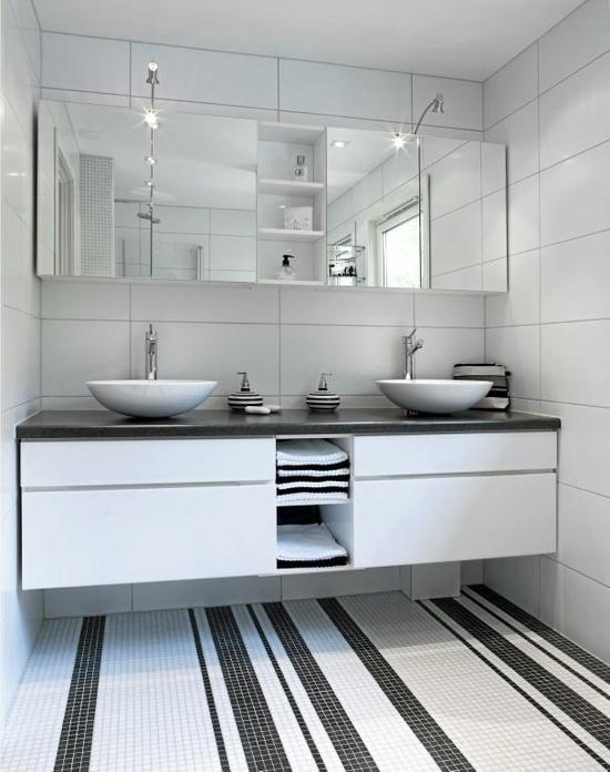 bathroom, i want those tiles