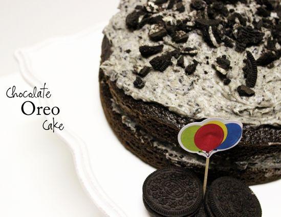 chocolate fudge oreo cake recipe