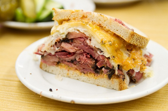 What about a delicious sandwich from Katz Deli in New York?!