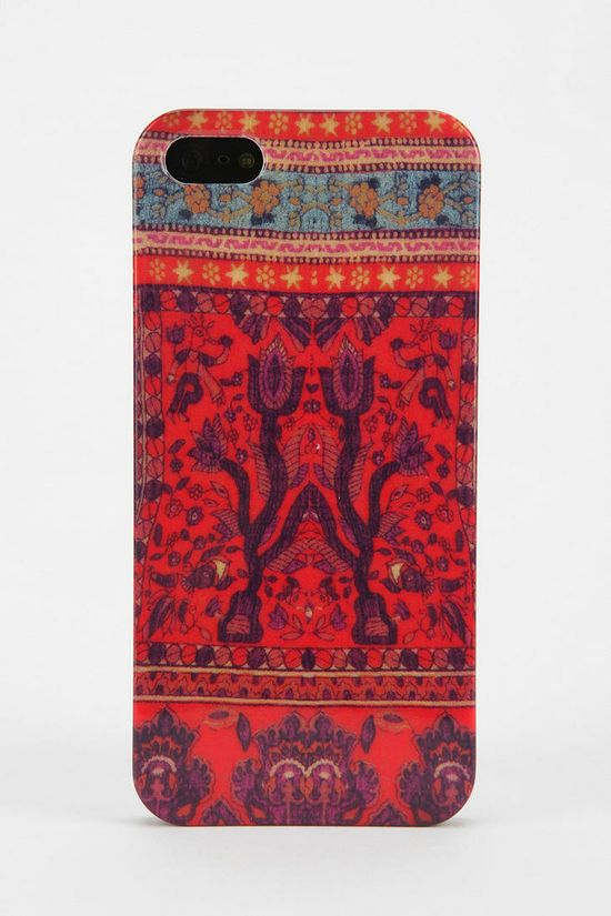 UO Stamped Tapestry iPhone 5 Case #urbanoutfitters