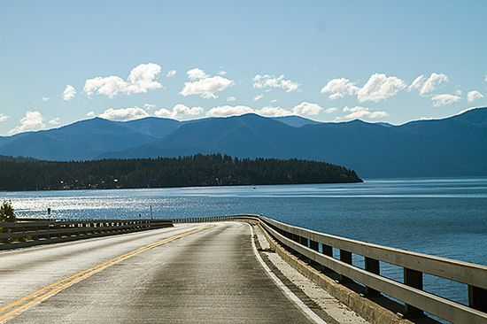 The Pend Oreille Scenic Byway #idaho
