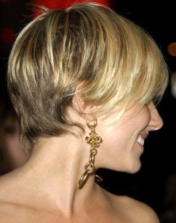 Sienna Miller Short Hair (back)