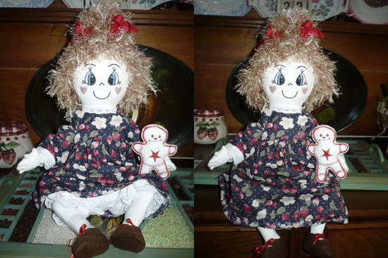 poupées brodées