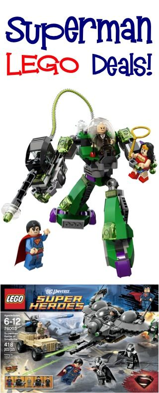 LEGO Superman Deals! {check some gifts off the list!}