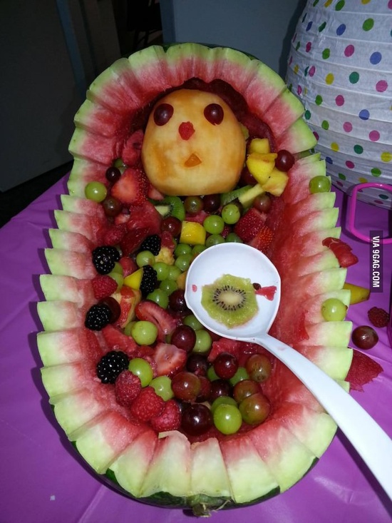 A good idea for a baby shower.
