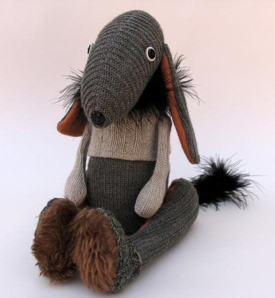 Woollen Donkey Dog