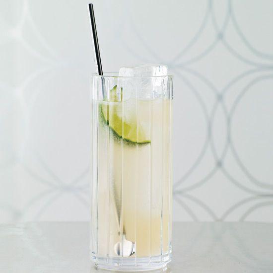 Blanco tequila, grapefruit juice, lime juice, soda // More Reinvented Classic Cocktails: www.foodandwine.c... #foodandwine
