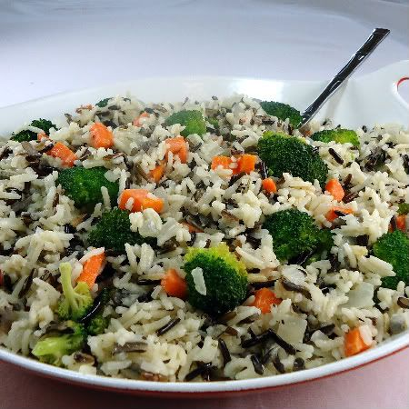 Wild Rice and Vegetable Pilaf