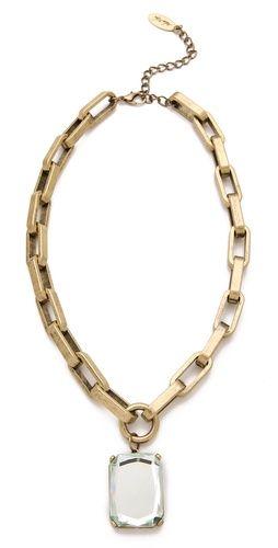 Adia Kibur Antique Pendant Necklace-- #shopbop