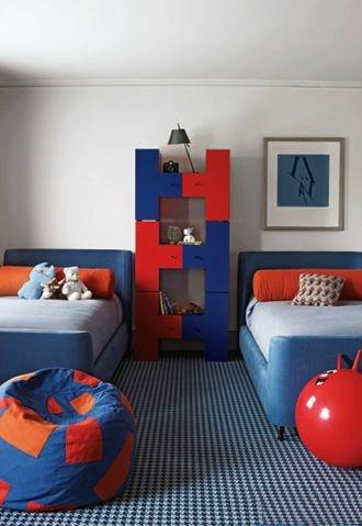Steven Volpe Interior Design - Kids _ childrens_ boys bedroom decor